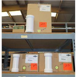 "Qty 3 Cartons of 24pcs Harrington Corp HARCO 2"" Repair CPL PVC-PR 109-020"