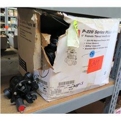 "Case TORO P-220 Series Plastic 1"" Female Thread Inlet/Outlet"