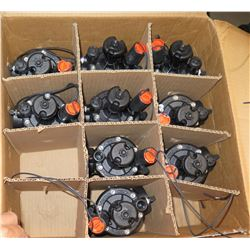 "Case of 9pcs TORO P-220 Series Plastic 1.5"" Female Thread Inlet/Outlet"
