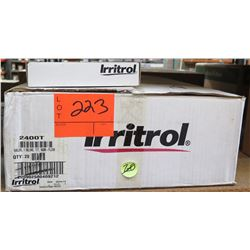 Case of 20pcs Irritrol 2400T Inline Valves, TY/T, Non-Flow & Remote Kit