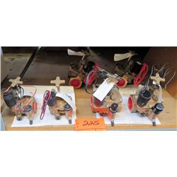 Qty 4 TORO 220 Series Brass Valves w/ Installation & Operating Instructions