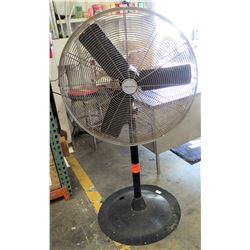 King of Fans Metal Pedestal Base Shop Fan HVP-30B