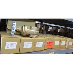 "Qty 8 NIBCO 3"" IPS Brass Gate Valves #TI-8"