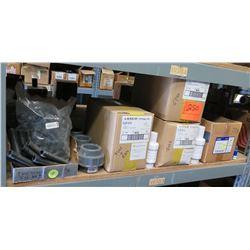 "Multiple LASKO 1"" Ultra Fix Repair Couplings, NDS 1"" Spring Check Valves CV-1000-MF, etc"