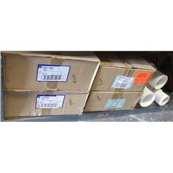 "Qty 3 Cases of 3pcs 3"" Compact Ultra Fix Repair Coupling CUF-030 & PVC Pro Span 118-30"
