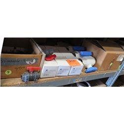 Multiple Colonial Valve Compact M1P Ball Valves V10691N, Rotators, Repair Couplings, etc