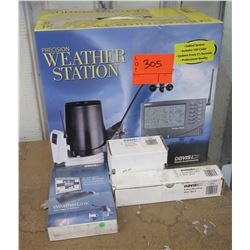 Davis Precision Weather Station w/ Weather-Link Software & Solar Radiation Sensor