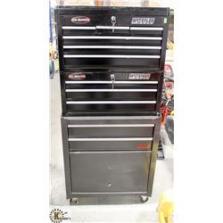 WATERLOO PROMAX 3PC ROLLING TOOLBOX WITH KEYS