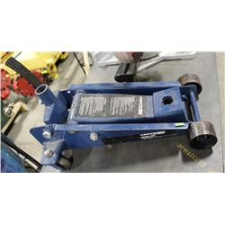 CERTIFIED 10 TON FLOOR JACK, NO HANDLE