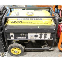 CHAMPION 4000 WATT GAS GENERATOR
