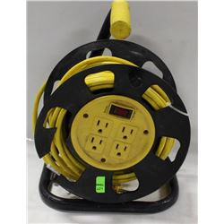 POWER EXTENSION CORD CADDY WITH 4 PLUGINS