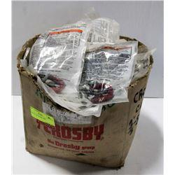 BOX OF 120 CROSBY DIPS.