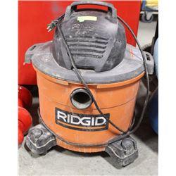 RIDGID 9 GAL MODEL WD09701