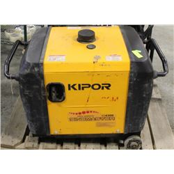KIPOR 4300W GENERATOR.