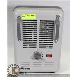 PATTON HEAVY DUTY HEATER WITH FAN -