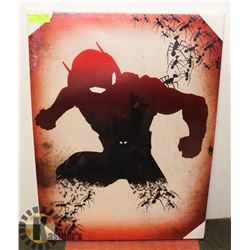 NEW ANT MAN STRETCHED CANVAS PICTURE