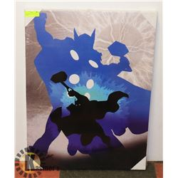 NEW THOR STRETCHED CANVAS PICTURE