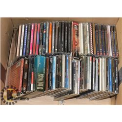 BOX OF 60 CDS INCL SPICE GIRLS, MATCHBOX 20, MONTY