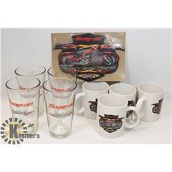 SET OF 4 SNAP ON CHOPPER MUGS AND MORE