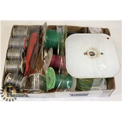 FLAT OF ASSORTED WIRE