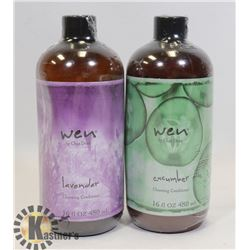 PAIR OF WEN CONDITIONER LAVENDER & CUCUMBER