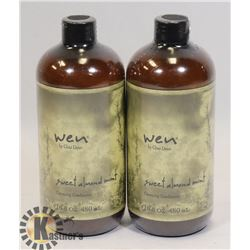 PAIR OF WEN SWEET ALMOND MINT CLEANSING