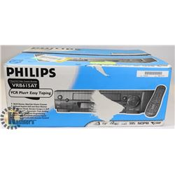 PHILIPS VCR WITH REMOTE