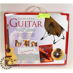 COMPLETE GUITAR BOOK & DVD SET