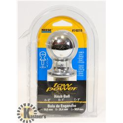 REESE TOW POWER HITCH BALL (6000LB CAPACITY)