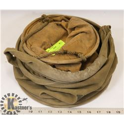 PAIR OF VINTAGE CANVAS MILITARY COLLAPSIBLE BUCKET