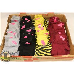 40 ASSORTED PAIRS OF GLOVES