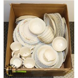 58PC ARCOPAL FRANCE DINNERWARE SET, 8 PLACE