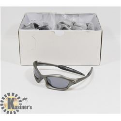 BOX OF GREY DESIGNER SUNGLASSES