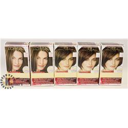 BAG OF 5 ASSORTED HAIR DYE