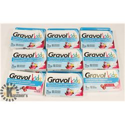 BAG OF KIDS GRAVOL SUPPOSITORIES