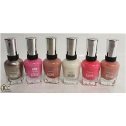 6 BOTTLES OF SALLY HANSEN COMPLETE SALON