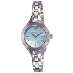 NEW LADIES EMPORIO ARMANI MOTHER OF PEARL DIAL