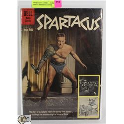 SPARTACUS COMIC --- KIRK DOUGLAS PHOTO COVER