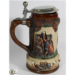 OBEYER TEUTON TANKARD MADE FROM WESTWALDER CLAY