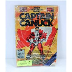 CAPTAIN CANUCK COMIC BOOKS JULY 75, JAN 94