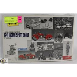 NEW 1941 INDIAN SPORT SCOUT HIGH TECH MODEL