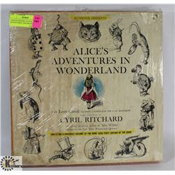 "LIMITED EDITION ""ALICES ADVENTURES"" LPS AND BOOK"