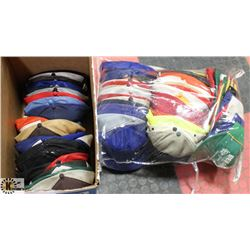 HUGE BOX OF COLLECTOR BASEBALL CAPS/HATS