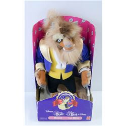 VINTAGE BEAUTY AND THE BEAST PLUSH DOLL NEW IN BOX