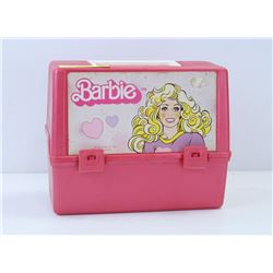 VINTAGE PINK BARBIE LUNCH KIT