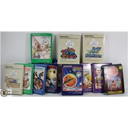 BOX OF VINTAGE 70'S & EARLY 80'S INTELLIVISION