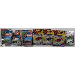 BOX OF ASSORTED COLLECTOR CARS.