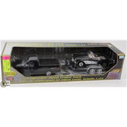 MOTORMAX 1:24 DIE CAST METAL TRAILER PACK.