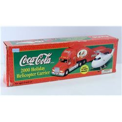 COCA COLA 2000 HOLIDAY HELICOPTER CARRIER WITH