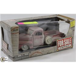 JADA FOR SALE '51 CHEVY PICK UP 1:24 SCALE DIE